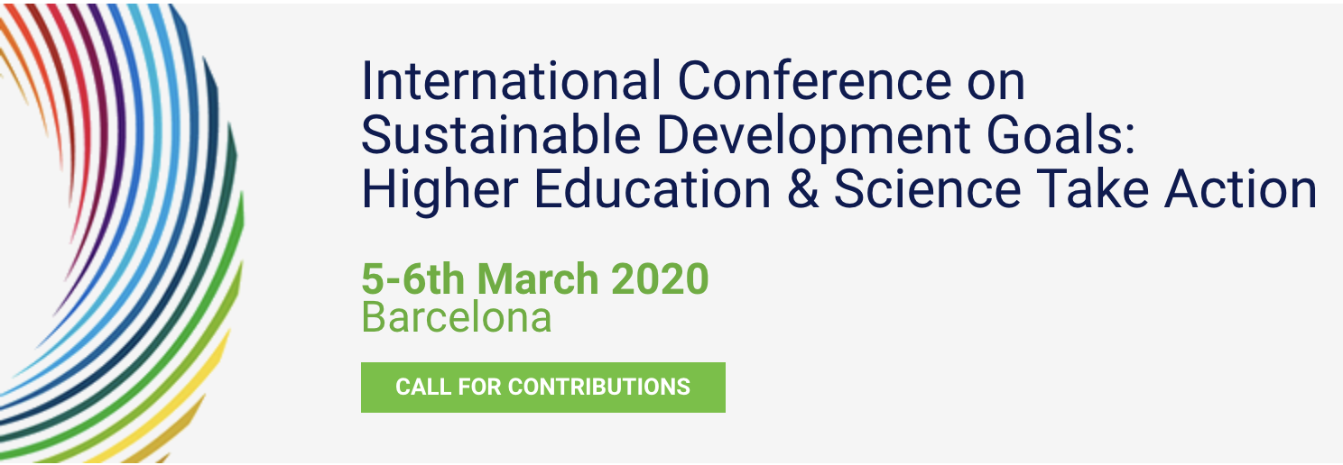 International Conference on Sustainable Development Goals